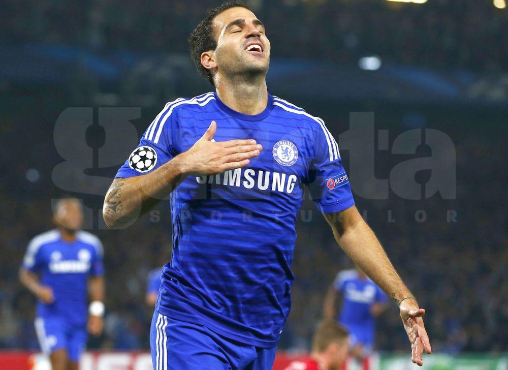 VIDEO Cesc Fabregas a marcat �mpotriva lui Schalke, dar Chelsea nu a luat cele 3 puncte!