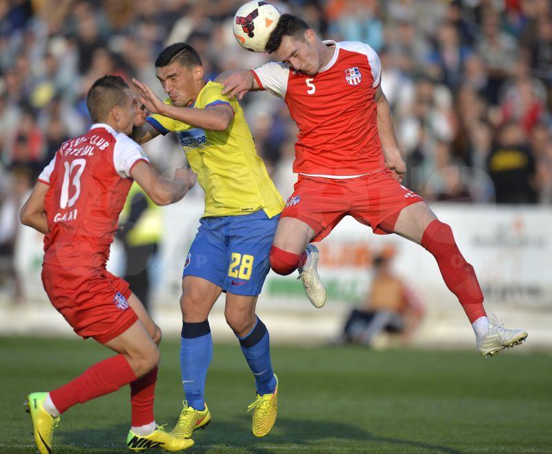 VIDEO Oţelul a obţinut un punct în partida cu Gaz Metan Mediaş, scor 1-1
