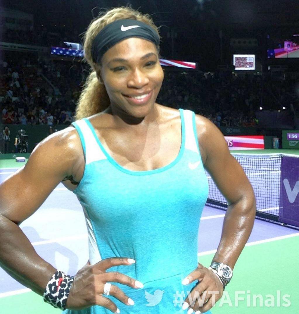 """The Serena Williams Show » Spectacol total la conferinţa de presă: """"A fost epic! Racheta aia nu mă va mai nemulţumi niciodată!"""""""