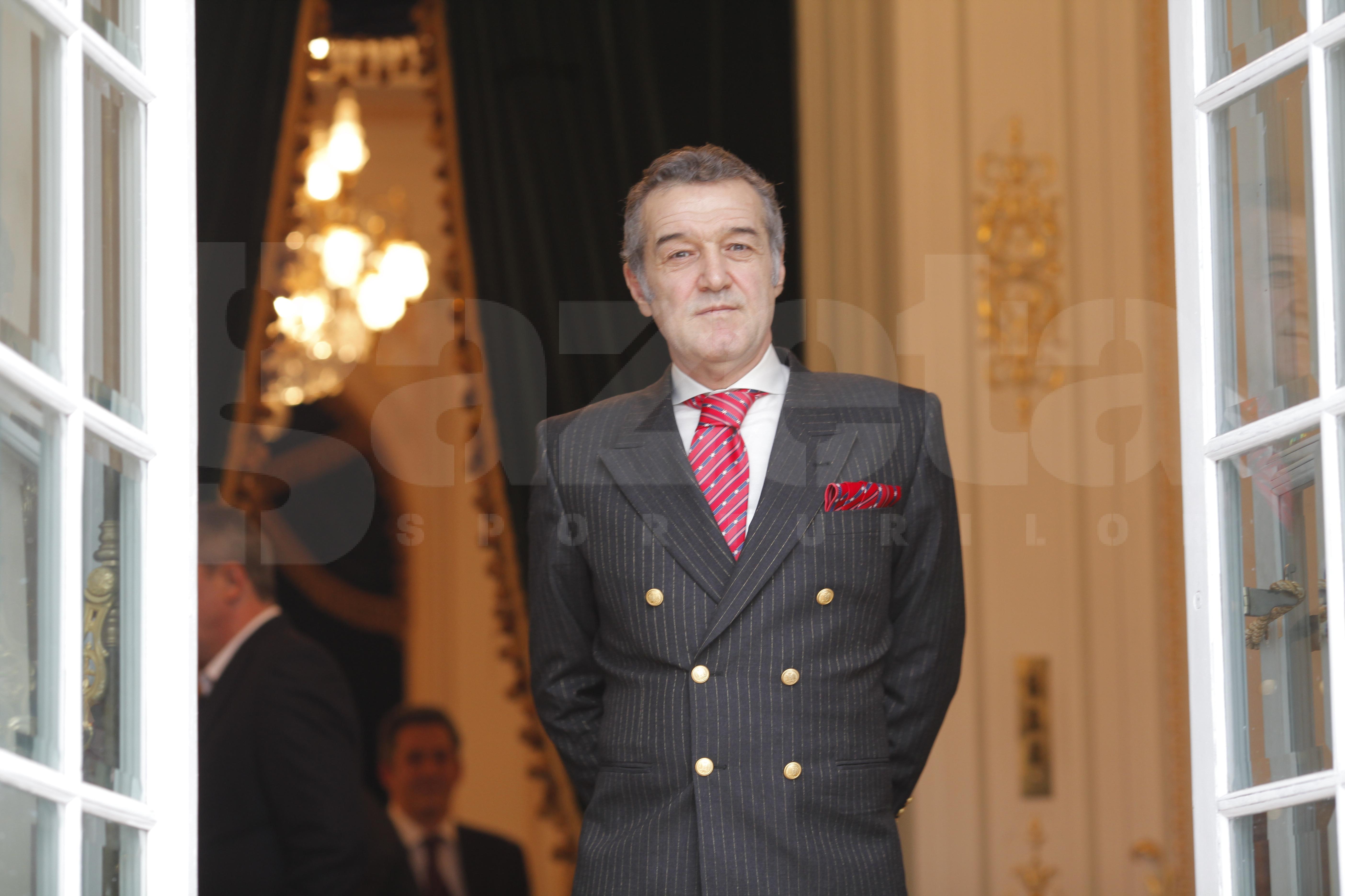 Gigi Becali se pregăteşte pentru Palatul Parlamentului » Patronul Stelei a primit noi veşti bune