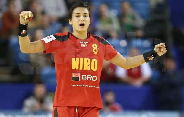 Cristina Neagu a fost aleasa cel mai bun inter st�nga de la Campionatul European de handbal