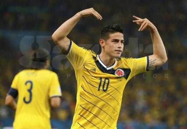 James Rodriguez a fost desemnat cel mai bun sportiv din America de Sud