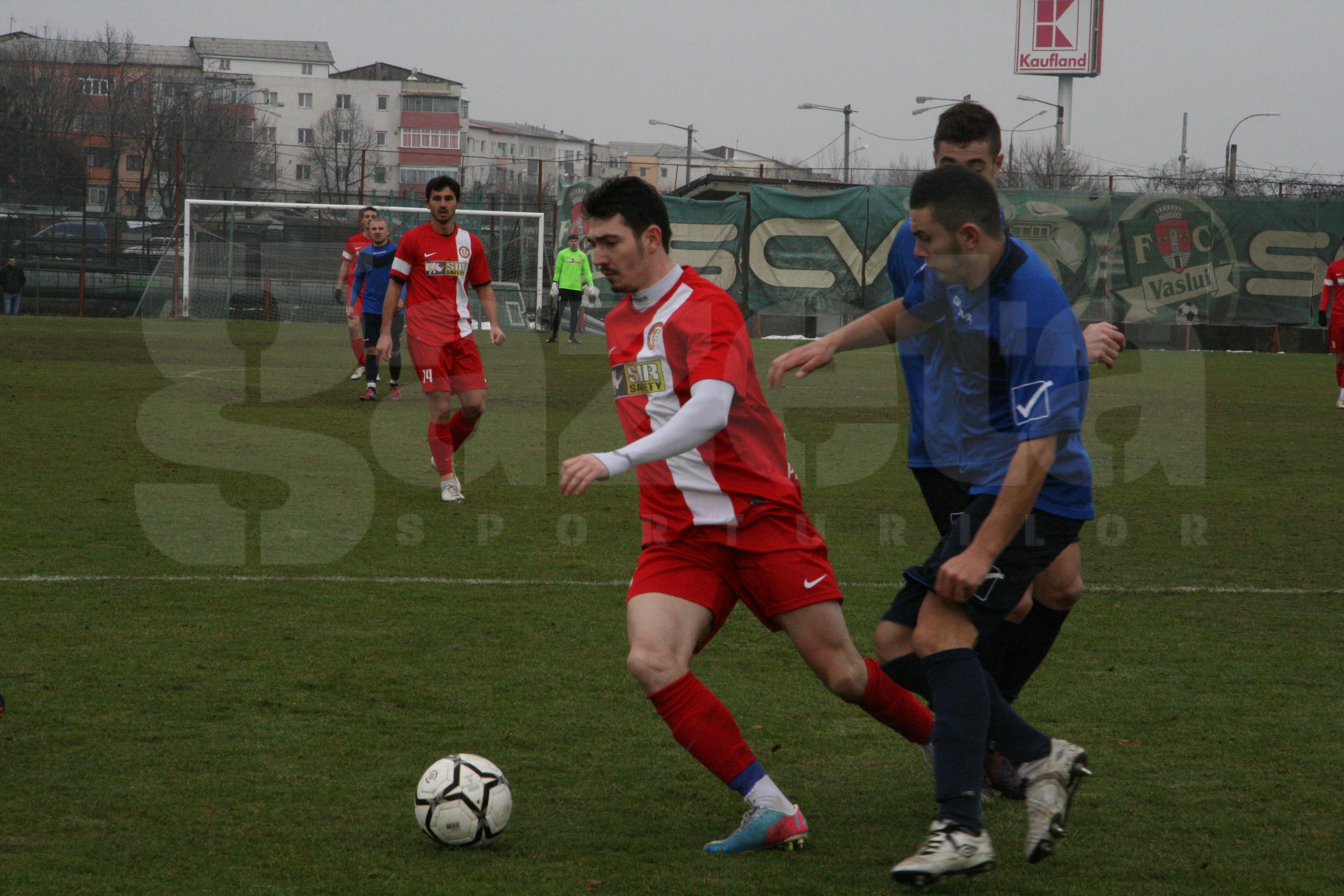 FOTO Revenire st�ngace a Vasluiului �n fotbalul mare � A fost �nvinsa la scor de o echipa din Liga a 2-a
