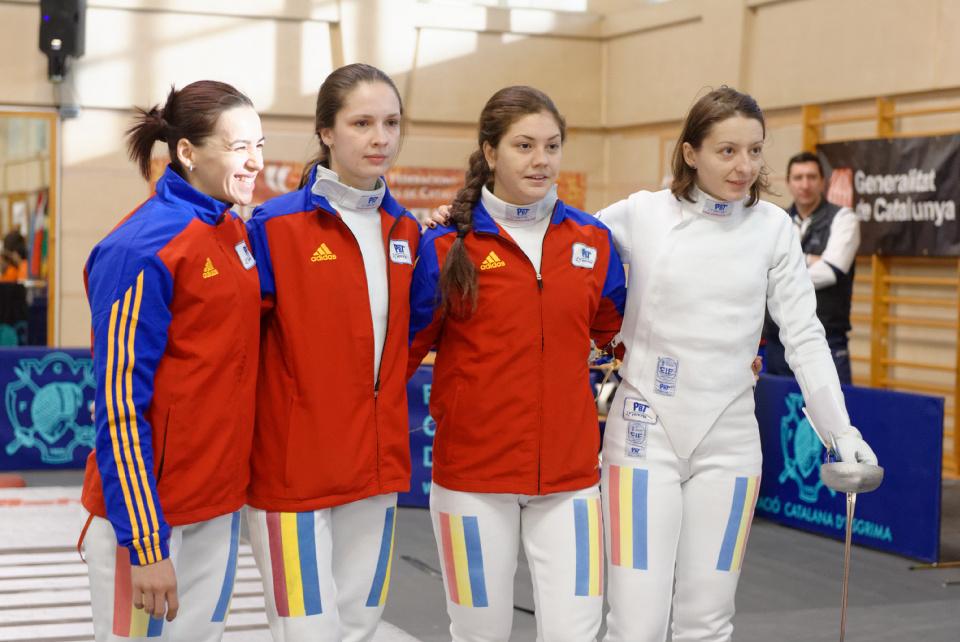 Rom�nia a �nvins Rusia, 33-32, �n finala mica la etapa de Cupa Mondiala la spada