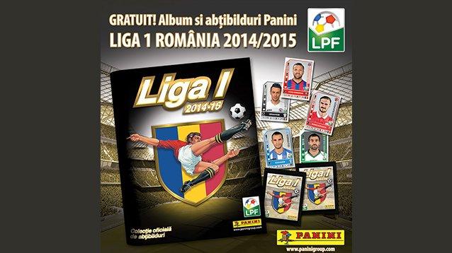VIDEO Fanii echipelor din Liga 1 vor putea să colecţioneze stickere cu jucătorii favoriţi