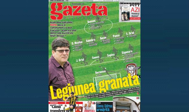 Rasfoieste online Gazeta Digitala � Legiunea granata � Acum doua saptam�ni, Pustai pleca �n cantonament cu doar 9 jucatori, acum are unul dintre cele mai titrate loturi din Liga 1!