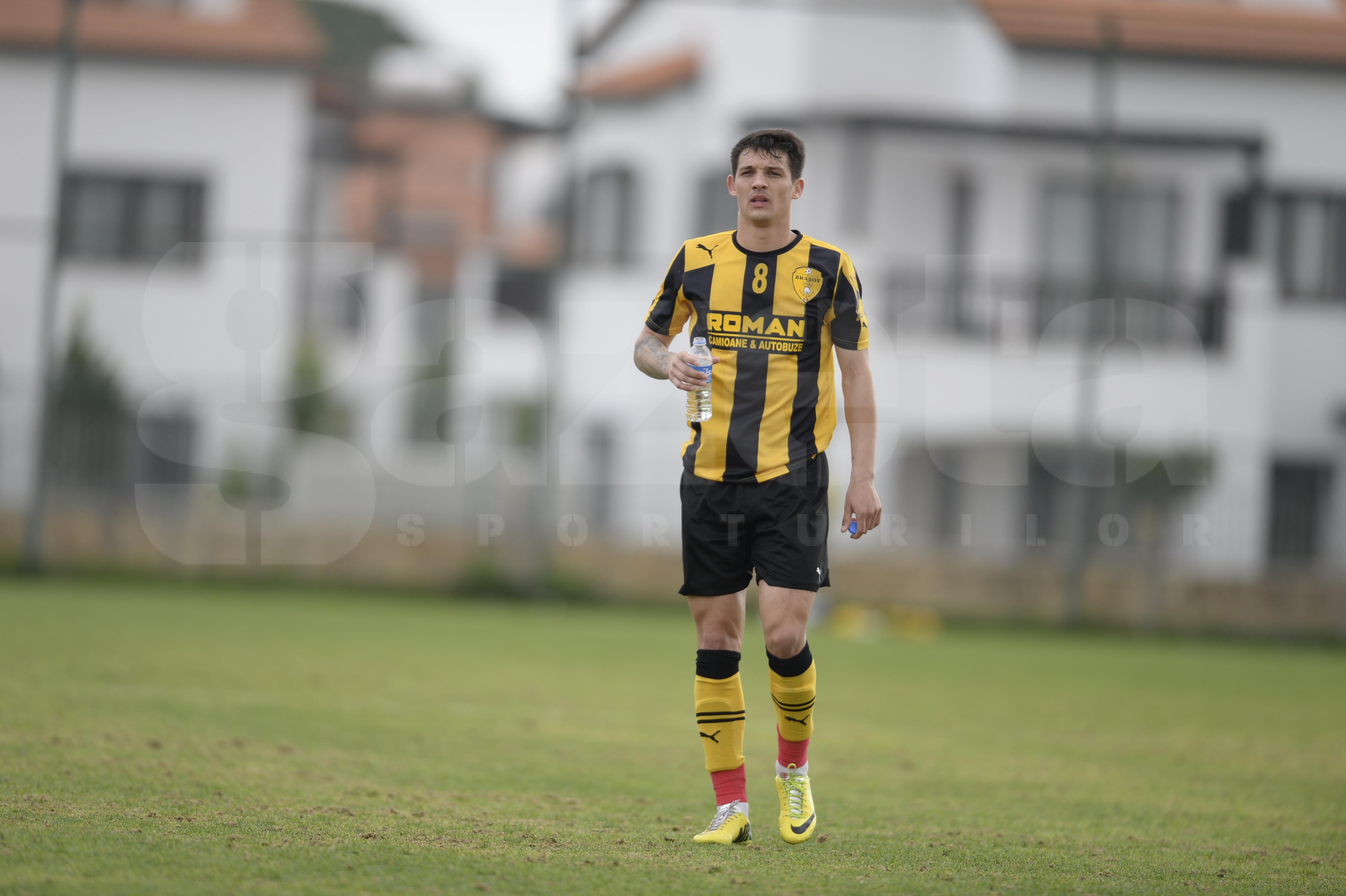 Gabi Matei a plecat la Braşov, dar încă visează să fie jucător de bază la Steaua:
