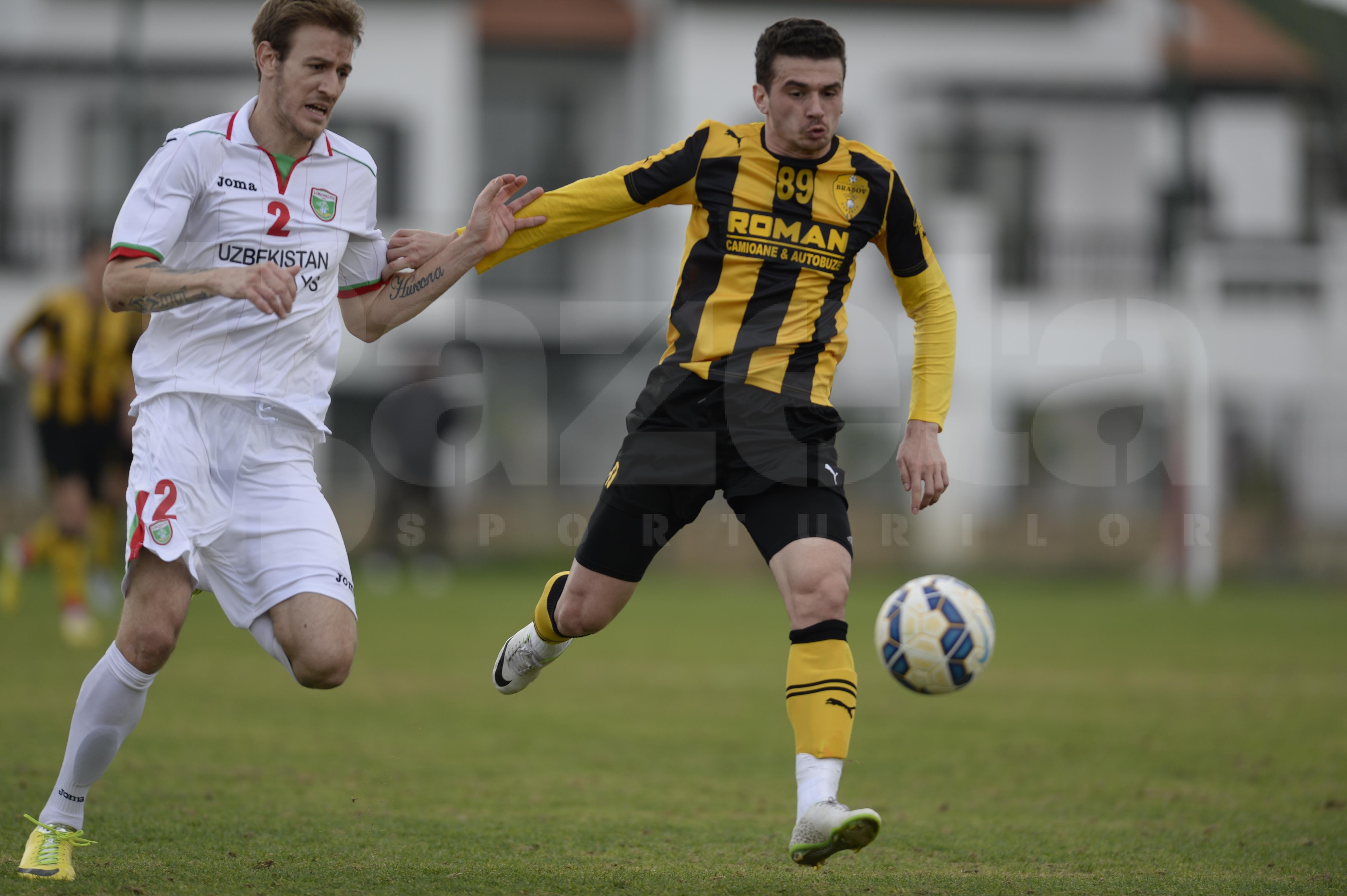 FOTO Braşovenii au obţinut o remiză albă cu Lokomotiv Taşkent » Ce spune Liviu Ganea despre CFR Cluj şi Dinamo
