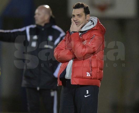 Mihai Teja se declară mulţumit după victoria la scor cu U Cluj