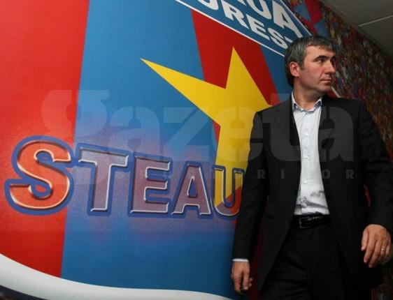 Gică Hagi apără şi el Steaua în războiul cu MApN: