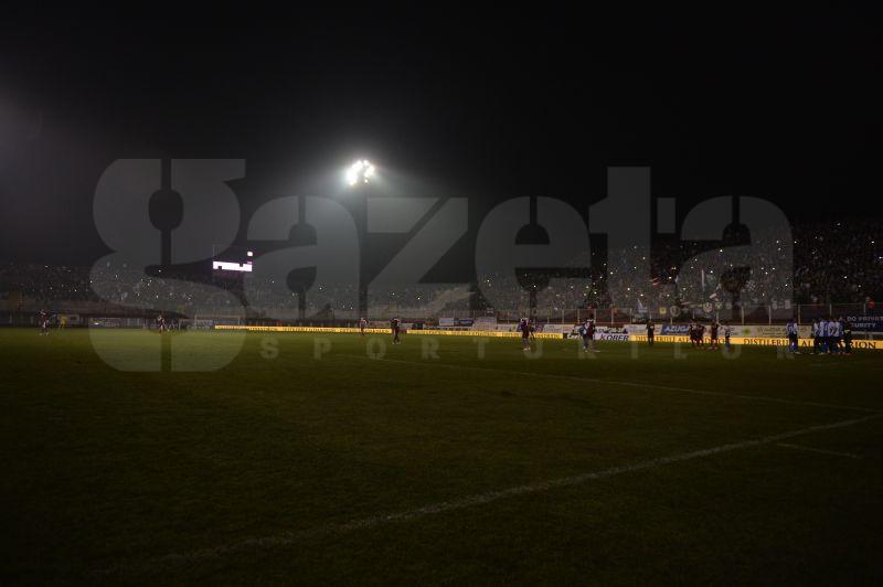 FOTO Rapidiştii au retrăit coşmarul din meciul cu PSG » S-a stins nocturna în Giuleşti!