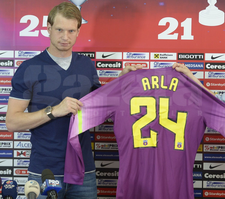 Oficialii Stelei reîncep astăzi negocierile cu Giedrius Arlauskis: