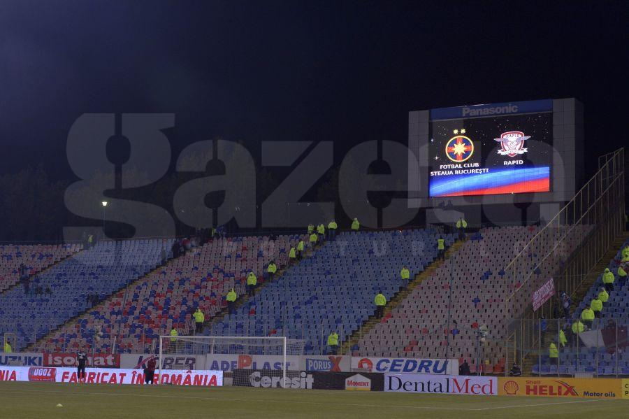 Fără galerie, dar suspendată » Steaua, sancţiune dură din partea Comisiei de Disciplină! Cîte etape au luat rapidiştii