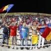 Suporterii Stelei fac spectacol în tribunele stadionului din Larnaca