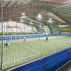 Asta este sala în care Marcel Răducanu îi învață fotbal pe copii