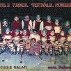 1979. Nuțu Andrei, primul din stînga jos, a făcut junioratul la CSȘ 2 Galați
