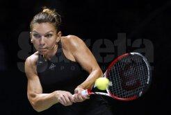 VALOARE ŞI ONOARE! Simona Halep a calificat-o pe Serena în semifinale
