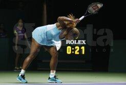 VIDEO Serena şi-a ieşit din minţi la Turneul Campioanelor » Publicul a fost uluit de gestul americancei