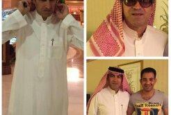 GALERIE FOTO L-au dat pe brazdă! Imagini tari din Arabia Saudită cu Victor Piţurcă! :D