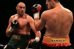 VIDEO Cristian Ciocan a abandonat lupta cu Tyson Fury
